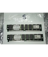 2 matching 72 Pin SIMM with Tin connectors 8 module  4MX32 SIMM 1997 - $14.85
