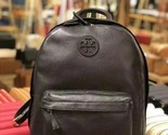 NWT Tory Burch Pebble Leather Backpack Black # 40850 $395 - $6.331,65 MXN