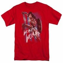 Wonder Woman T-shirt DC comic book Batman superhero graphic cotton tee WWM112 image 1