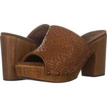 White Mountain Shoes Altoria Sandal 375, Tan/Burn/Woven/Sm, 8.5 Us - $29.75