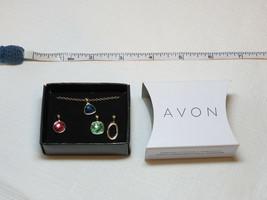 Donna Avon Spice Moderno 4 Pezzi Intercambiabile Ciondoli Collana F3930611 Nip - $15.87
