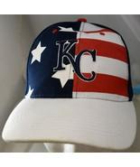 Kansas City Royals Baseball Hat Stars and Stripes Red White Blue Associated - $24.49
