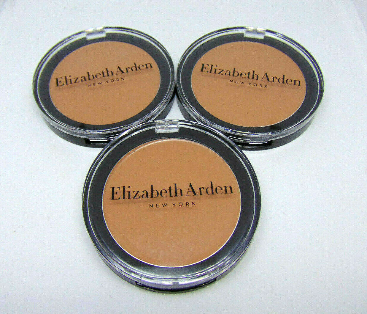 Primary image for Lot of 3 ELIZABETH ARDEN FLAWLESS FINISH Sponge-On Cream Makeup No.51 0.35oz/10g