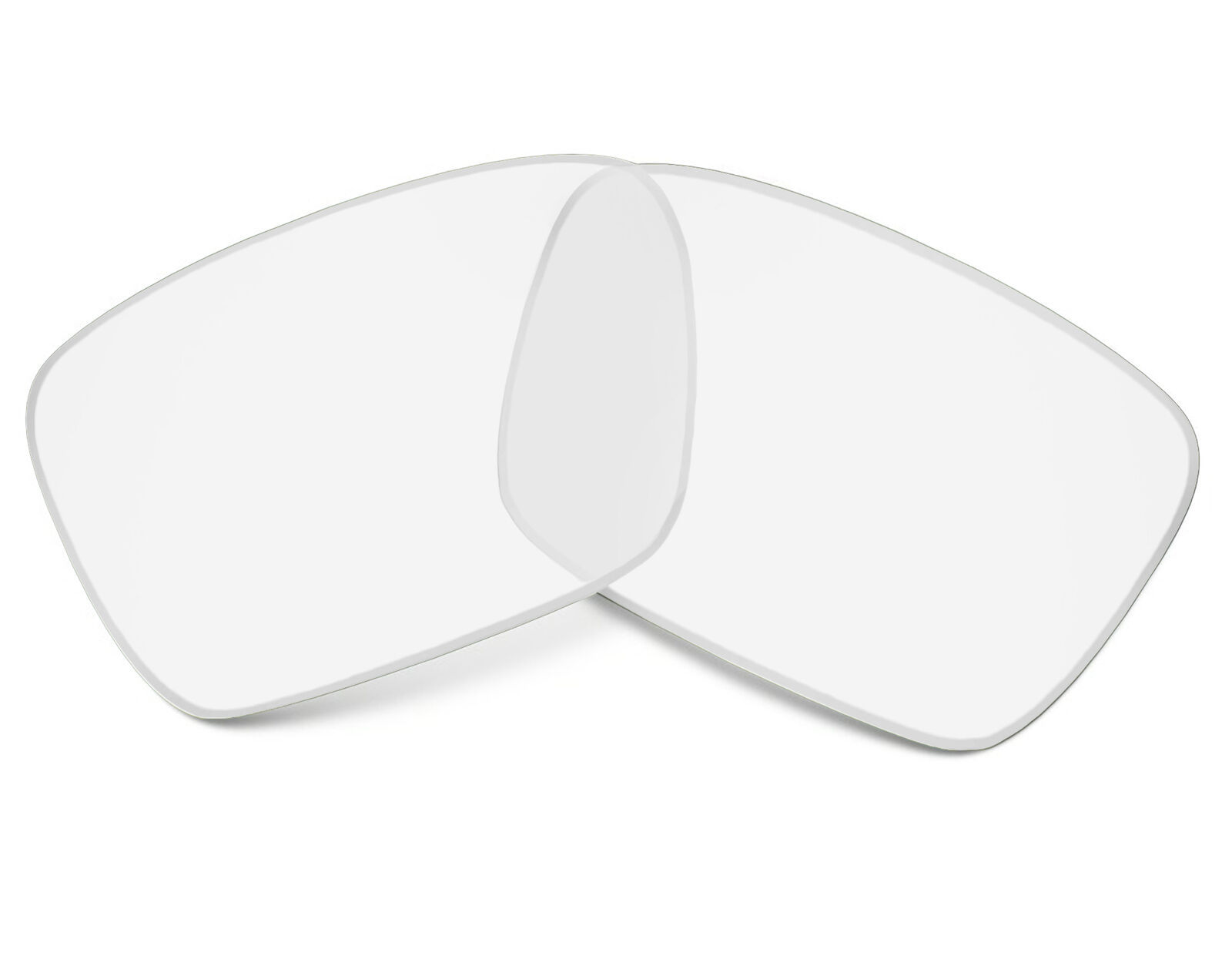 Primary image for Replacement Lenses for Oakley Fuel Cell Sunglasses Anti-Scratch Crystal Clear