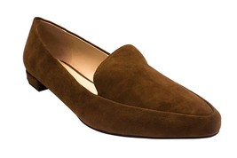 Isaac Mizrahi Live! Suede Saddle 'Maggie' Loafers with Heel Hardware Detail - 8M - £24.48 GBP