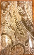 """RALPH LAUREN DESERT SPA PAISLEY KING SHAM (20""""X36"""") TAN - NEW IN PACKAGE - $39.99"""