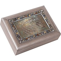 Cottage Garden Footprints in The Sand Precious Child Brushed Pewter Jewe... - $51.72