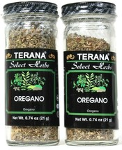 2 Count Terana 0.74 Oz Select Herbs Oregano Add To Sauces Meat Pasta Exp... - $10.99