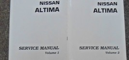 2001 Nissan ALTIMA Service Repair Shop Manual 2 Vol HUGE SET FACTORY BRA... - $336.60