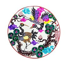 George Jimmy 4 Pcs Colorful Pine&Crane Pattern Chinese Paper Cut Papercuts - $17.33