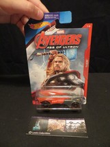 Thor Buzz Bomb Avengers Age of Ultron Hot wheels 5/8 die cast car - $14.16