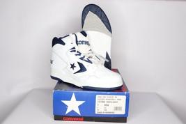 Vtg 90s New Converse Mens 7 Cons 500 Classic Hi Basketball Shoes White N... - $105.88
