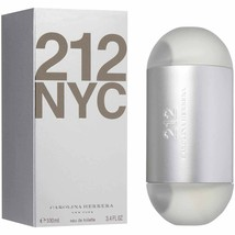 212 NYC BY CAROLINA HERRERA (W) 3.4 OZ EAU DE TOILETTE SP  - $63.26