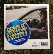 Drive It Right Teen Driving DVD Allstate Insurance  Very Rare - $4.94