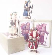 Department 56 Kris Kringle Sculptures - Set of 3 - $99.00