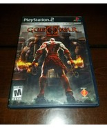 God of War II Black Label PlayStation 2 PS2 EXMT **Inv03087** - $11.57