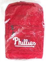 Phillies Promo Nylon Backpack w/ Padded Shoulder Straps Exterior Pockets - $18.95