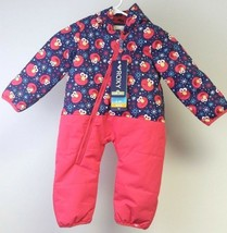New Girls's Roxy Baby Rose Snowsuit - 6-12Month - Elmo - Free Shipping - $69.25