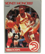 1990 NBA Properties NBA Hoops Atlanta Hawks Sidney Moncrief Guard  - $1.53