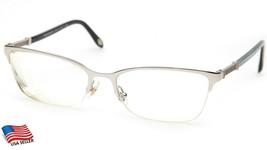 Tiffany & Co. Tf 1111-B 6100 Silver Eyeglasses Frame 53-17-140mm B34mm Italy - $108.89