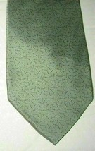 "George Machado Zylos Men's Silk Neck Tie Green 56.5"" NWOT - $8.50"
