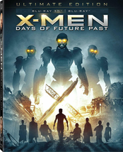 X-men: Days of Future Past Ultimate edition (3D Blu-ray + Blu-ray + Comic book)