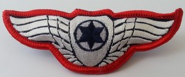 RARE: Israel airforce pilot RED WINGS independence war IDF army combat b... - $27.50