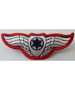 RARE: Israel airforce pilot RED WINGS independence war IDF army combat b... - £21.37 GBP