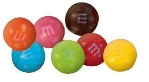 M&Ms Peanut Butter Candies -25Lbs