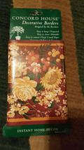 concord house decorative broders kessler floral new - $9.50