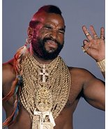 Mr. T 16x20 Canvas Giclee Gold Chains From The A Team - $69.99
