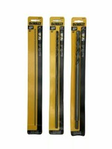 (New) DEWALT 1/2,5/16,1/8-Inch by 12-Inch Extra  Oxide Drill Bit (Pack of 3) - $24.74