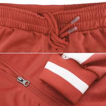 vkwear Men's Striped Athletic Running Jogging Gym Slim Fit Sweat Track Suit Set image 13