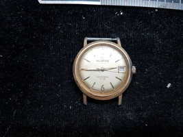 VINTAGE HELBROS DATE 7 JEWEL INVINCIBLE WATCH FOR YOU TO FIX OR FOR PARTS - $91.92
