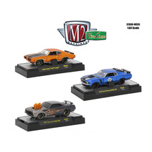 Wild Cards Set of 3 WITH CASES 1/64 Diecast Models by M2 Machines 32600-... - $35.93
