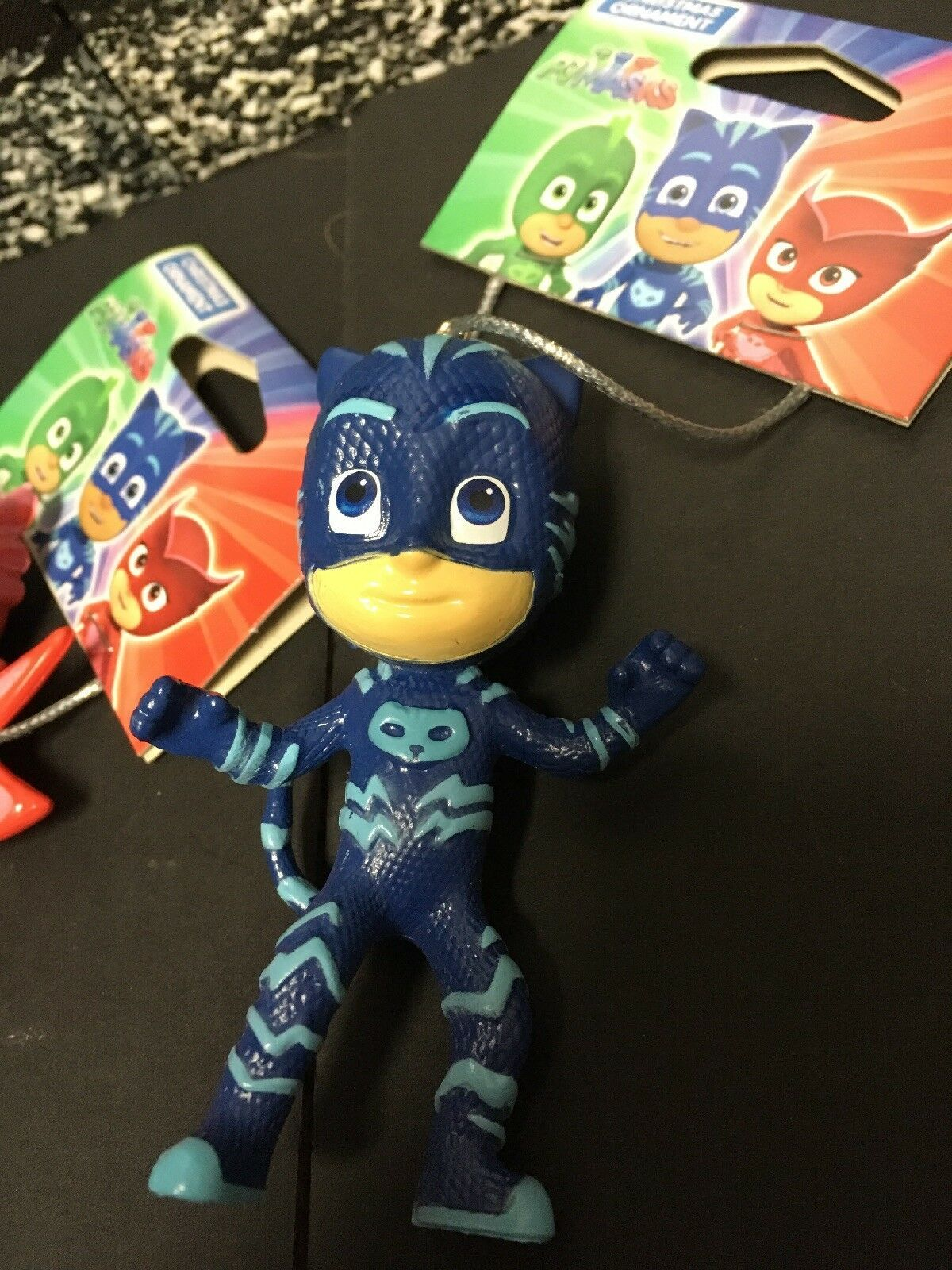 New PJ MASKS Christmas Ornaments Set of 3 Owlette Gekko Catboy by Kurt Adler
