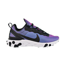 Nike React Element 55 Premium Women's Shoes Black-Laser Fuchsia CD6964-001 - $100.00
