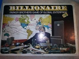 Vintage1973 BILLIONAIRE Board Game by Parker Brothers - 100% COMPLETE! V... - £17.01 GBP