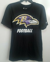 Baltimore Ravens Men's Nike NFL Football Training T-Shirt Tee Small Athletic Cut - $14.54