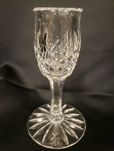 """Waterford Crystal Clear Glass Single Light Candlestick Holder 5"""" - $29.69"""
