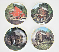 Edwin Knowles Collector Plates LTD by Craig Tennant Lot of 4 with Hangers - $56.93