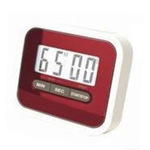 Digital Kitchen Timer Count Down Up Magnetic   red - $11.39