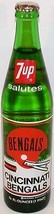 Vintage commemorative bottle 7 UP 1974 Cincinnati Bengals Riverfront Sta... - $9.99