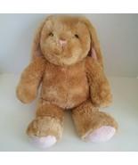 Build a Bear Bunny Rabbit Easter Tan Brown Plush Stuffed Animal Doll Toy... - $13.80