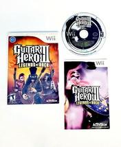 Guitar Hero 3 III Legends of Rock (Nintendo Wii 2008) Complete with Manu... - $13.25