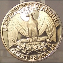 1984-S DCAM Proof Washington Quarter PF65 #872 image 2