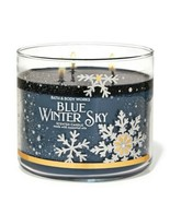 Bath & Body Works Blue Winter Sky 3 Wick Scented Candle 14.5 oz - $28.04