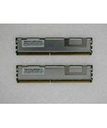 8GB 2X4GB KIT DELL FBDIMM PowerEdge 2900 M600 2950 III 2900 R900 RAM MEMORY - $34.16