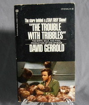 The Trouble with Tribbles by David Gerrold 1973 First Edition Paperback w/photos - $9.00