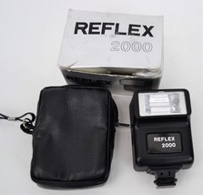 Reflex 2000 Electronic Camera Flash Unit with Insructions and Original B... - $18.69